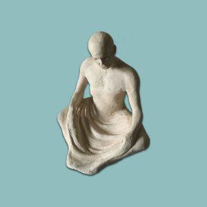 Scribe assis, objet mystérieux d'Alain Hamel
