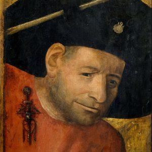 Hieronymus Bosch : le halebardier fait du coaching individuel